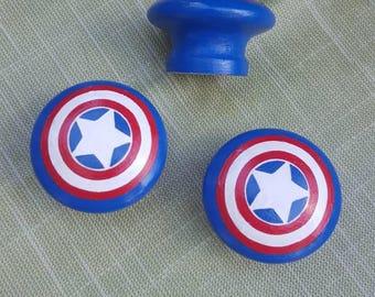 Captain America knobs