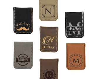 Personalized Money Clip - Money Clip Engraved -Groomsmen Gift Ideas - Gifts For Men - Monogrammed Money Clip - Money Clips Personalized