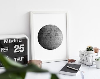 Moon Print- A3