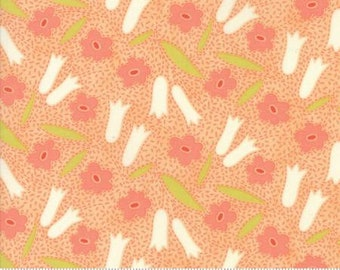 Ella Ollie - Apricot 20301 13 - By Fig Tree of Moda Fabrics 100% Cotton Quilting Fabric