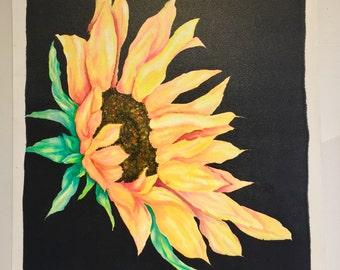 Silk Sunflower 1