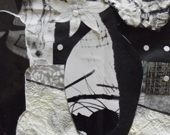 Monochrome Still Life Collage