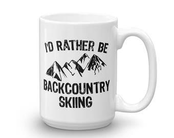 Backcountry Skiing, Ski Coffee Mug