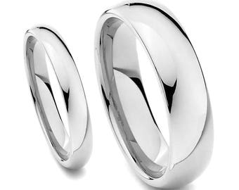 Silver wedding ring Etsy