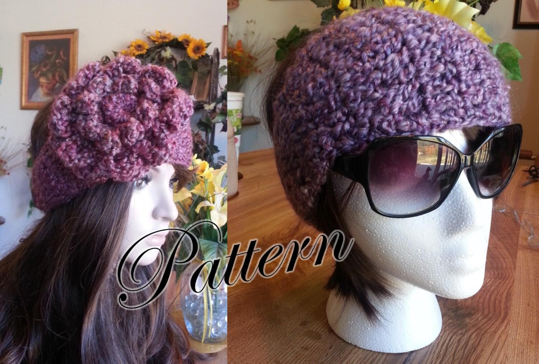 PDF Pattern Crochet End to End Headband Earwarmer Headwrap with Two ...