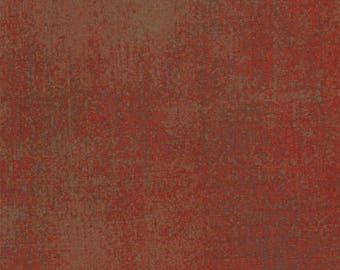 Moda Fabric, Grunge Basics, 30150-82 Maraschino Cherry, Basic Grey, 100% Cotton, #MG04