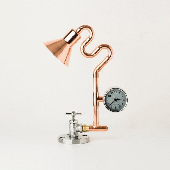 Pipe Lamp Industrial Lamp Urban Pipe Lamp By: PIPESTORY Pipe Lamp / Copper Lamp / Industrial Lamp