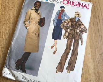 Vintage Vogue paris original sewing pattern