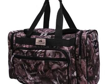 Monogram Black Camo Duffle Bag