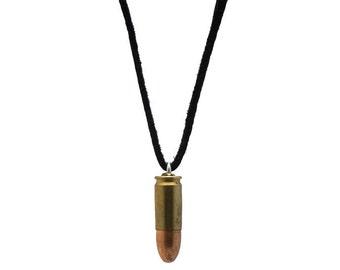 9mm Brass Bullet Necklace (1261-20-9651)