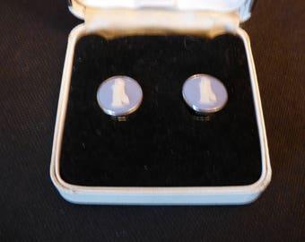 Wedgwood jasperware earrings