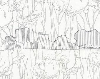 Friedlander - Tree Stripe Iron - Carolyn Friedlander - Robert Kaufman (AFR-16610-295)