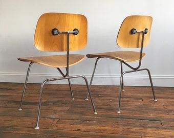 Vintage Herman Miller Eames DCM Molded Plywood Chair
