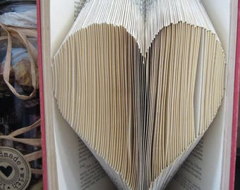 Love Heart Folded book