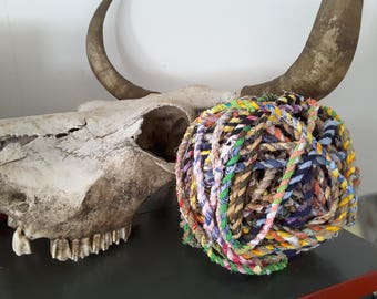 Fabric twine rope  for endles of ideas of thing to cover  !!!