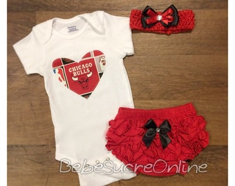 Chicago Bulls Outfit and Headband