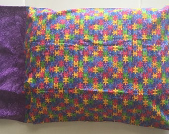Jigsaw Puzzle Pillow Case