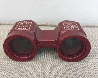 Theatre Binoculars with inscription