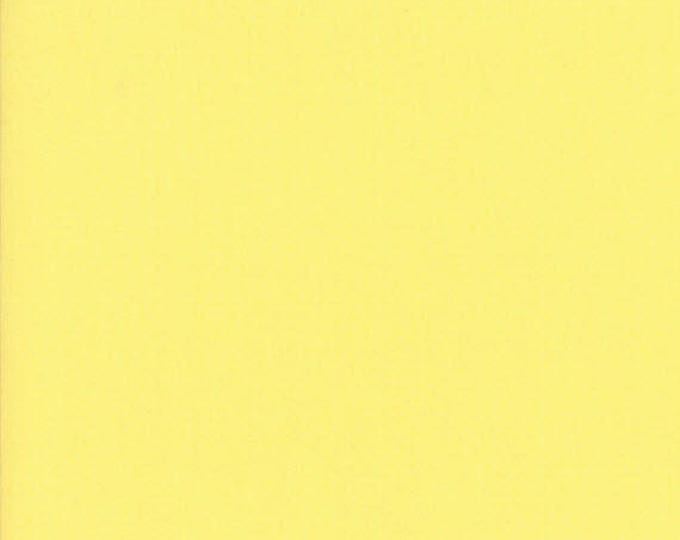 BELLA SOLIDS - 30's Yellow - Solid Blender Cotton Quilt Fabric - from Moda Fabrics - 9900-23 (W4396)