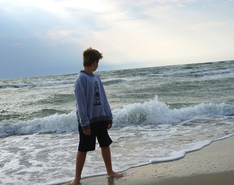 Summer shorts for boys . Beach wear. Holiday wear. Hand made in Lithuania. Comfortable and elastic.