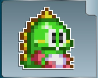 BUB Sprite vinyl decal from Bust-A-Move Car Laptop Sticker for Almost Anything