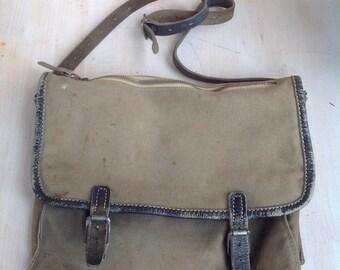 Norwegian vintage messenger bag