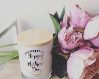 Mother's Day Quote Candle