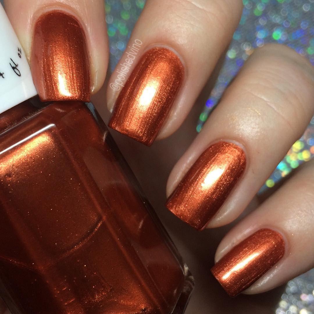 Orange Nail Polish Nz: To Burn Bright Orange Nail Polish Burnt Orange Nail Polish