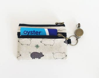 Travel pass case (piggy)LAST ONE