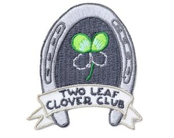 Two Leaf Clover Club Patch