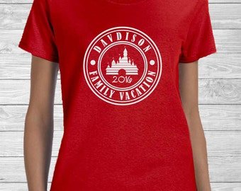 Disney Family Vacation Shirt - Personalized