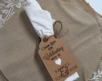 Tags for your event, weddings, showers, dinners, luncheons etc...