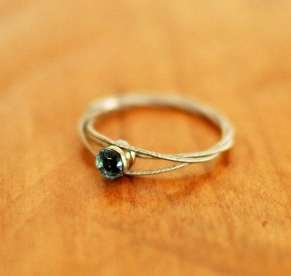 guitar string engagement ring purity ring guitar string. Black Bedroom Furniture Sets. Home Design Ideas