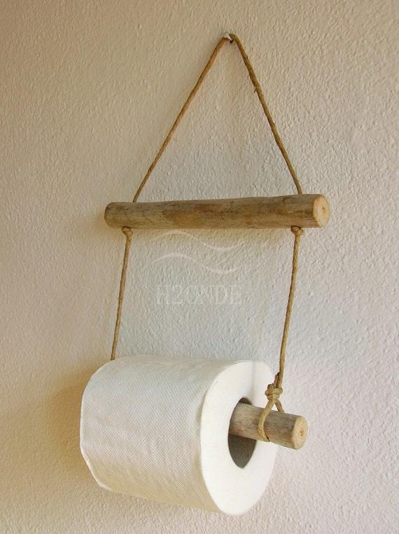 Porta rotolo carta igienica bagno muro parete appeso naturale - Dove mettere il porta carta igienica ...