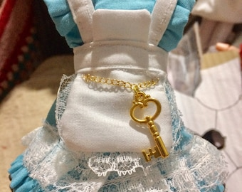 Dress of Alice in Wonderland for dolls Pullip Blythe and others