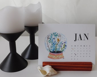 "2017 Desk Calendar - ""Something Left to the Imagination"""