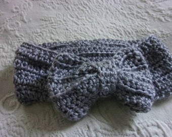 Earwarmer headband - hand crocheted - baby-adult, many colors