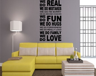 In This House... Wall Decal