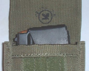 Israel Defense Forces Tsahal IDF nylon pouch for 12-round Galil magazine (grenade-launching, etc) unissued