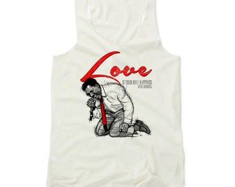 Otis Redding Women's Shirt | Soul Music | Women's Tank Top | Otis Redding Love R