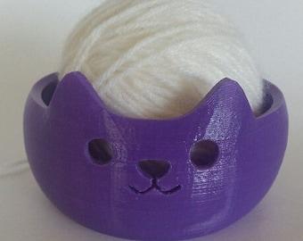 Cat Yarn Bowl