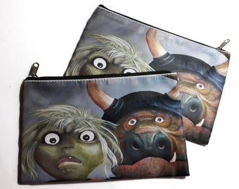 Bad Babysitters Cosmetic Bag - Art Pencil Bag