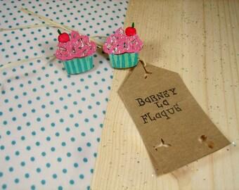 """""""Little cupcake"""" Stud Earrings"""