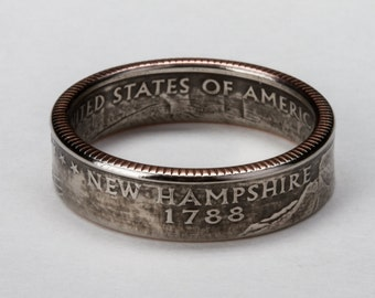 New Hampshire State Quarter Ring