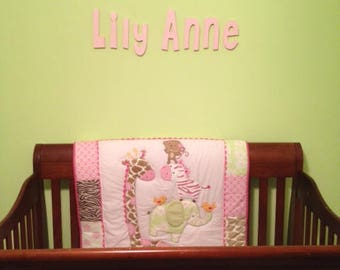 Kids Room Decor, Wooden Letters, Personalized Letters, Personalized Name, Custom Name, Nursery Decor, Bedroom Decor