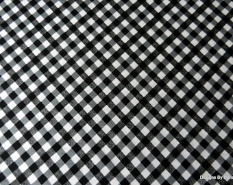 "One Yard Cut Quilt Fabric, Black & White, ""Apple Blossom Festival"" by Maria Kalinowski for Kanvas, Sewing-Quilting-Craft Supplies"