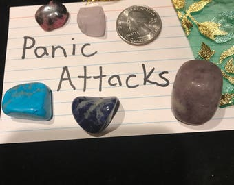 panic attack crystal set