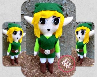 Legend of Zelda Plush Link Doll Toy