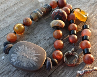 OOAK Handmade MONTANA Necklace by designer Susan Ray