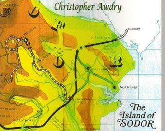 Signed Sodor reading Between The Lines By Christopher Awdry Brand New First Edition Pasperback